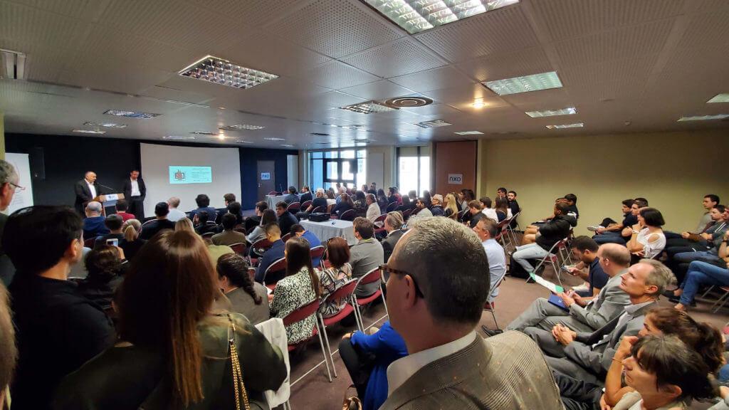 Photo cybersecurity conference Cyberday Corsica Ajaccio Freani